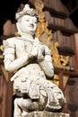Thai style molding art Royalty Free Stock Photography