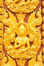 Thai style molding art Stock Photos