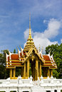 Thai style pavilion Royalty Free Stock Images