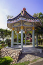 Thai style pavilions sattahip area of thailand Stock Photography