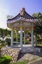 Thai style pavilions sattahip area of thailand Stock Photography