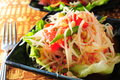 Thai style salad fruit vegetable Royalty Free Stock Image