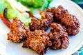 Thai style spicy pork ball Royalty Free Stock Photo