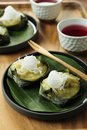 Thai style sweet desserts Stock Photography