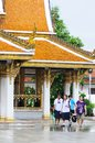 Thai temple. Stock Photo