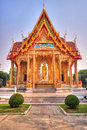 Thai temple the art of the faith in thailand Stock Images