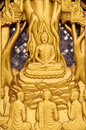 Thai temple murals in thailand Stock Photography