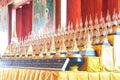 Thai temple of thailand art Stock Photography