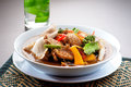 Thai Tom Yum seafood Stock Photo