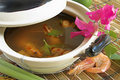 Thai Tom Yum soup Stock Photography