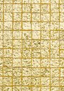 Thai tradition gold color of wall for text and background