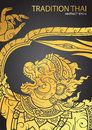 Thai tradition Hanuman characters of Ramayana