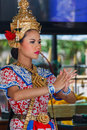 Thai Traditional Dance Royalty Free Stock Photo