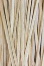 Thai traditional strips of bamboo using for weaving Royalty Free Stock Photo