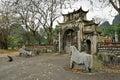 Thai vi temple vietnam ninh binh Stock Photography