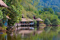 Thai village Royalty Free Stock Image