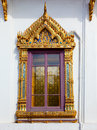 Thai window Royalty Free Stock Photos