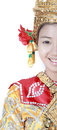 Thai young lady in an ancient Thailand dance wea Stock Photography