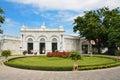 Thailändsk kunglig uppehåll på smällen pa i royal palace Royaltyfri Bild