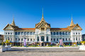 Thail Royal Grand palace in Bangkok Royalty Free Stock Photo