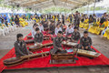 Thailand Army music band Royalty Free Stock Photo