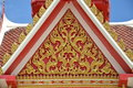 Thailand art building designs Royalty Free Stock Photo