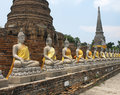 Thailand - Ayutthaya Royalty Free Stock Photo