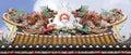 Thailand, Bangkok: Chinatown, temple Royalty Free Stock Photography