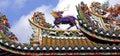 Thailand, Bangkok: Chinatown, temple Stock Photo