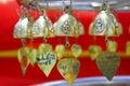 Thailand Bangkok golden little bell Stock Photo