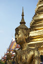 THAILAND, Bangkok, Imperial City, statue Royalty Free Stock Photo