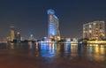Thailand bangkok night bangkok millenium hilton hotel dec on december in Stock Photos