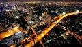 Noche ciudad cielo