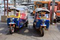Thailand Bangkok Taxi In City Royalty Free Stock Images