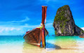 Thailand beach tropical island landscape background Stock Photo