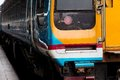 Thailand commuter train close up of at hua lamphong railway station bangkok Royalty Free Stock Photo