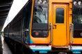Thailand commuter train at hua lamphong railway station ฺbangkok Royalty Free Stock Image