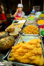 Thailand dessert at night market landmark of huahin Stock Photography