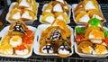 Thailand dessert style Stock Photo