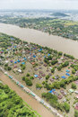 Thailand floods, Natural Disaster Royalty Free Stock Photo