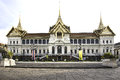 Thailand grand palace Royalty Free Stock Photo