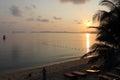 Thailand  Island Samui dawn Royalty Free Stock Photo
