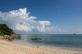Thailand, Koh Phangan - beautiful tropical island beach Royalty Free Stock Photo