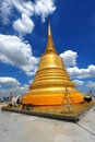 Thailand landmark Golden Mount (wat sraket)  B Stock Photography