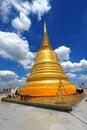 Thailand landmark Golden Mount (wat sraket)  B Stock Photography
