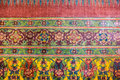 Thailand painting texture Royalty Free Stock Photo