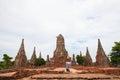Thailand s ayutthaya monuments another chinese translation ayurveda him jesus house thai Royalty Free Stock Image