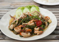 Thailand Seafood Salad Royalty Free Stock Photography