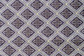 Thailand style rug surface close up vintage fabric Royalty Free Stock Photo