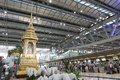 Thailand suvarnabhumi airport new bangkok Royalty Free Stock Images